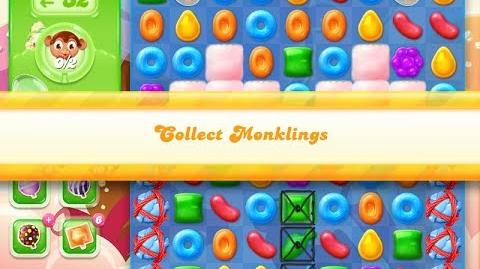 Candy Crush Jelly Saga Level 884 (No boosters)