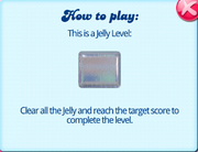 How to play a jelly level