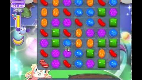 How to beat Candy Crush Saga Dreamworld Level 75 - 3 Stars - No Boosters - 262,080pts