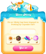 Save Misty message