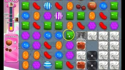 Candy Crush Saga Level 255, strategy to pass No Boosters