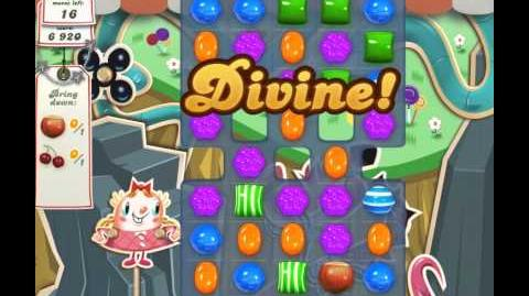 Candy Crush Saga Level 24 - 3 Star - no boosters