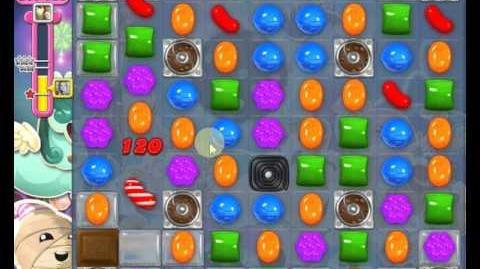 Candy Crush Saga LEVEL 1411 new version (30 moves)