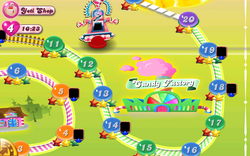 Candy Factory Map Mobile
