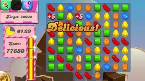 Candy Crush Saga Level 43 No Boosters 3 Stars