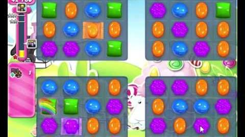 Candy Crush Saga LEVEL 467 NO BOOSTERS (new combo effect)