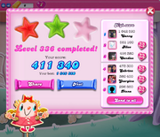 Reality level 336 two stars on Facebook