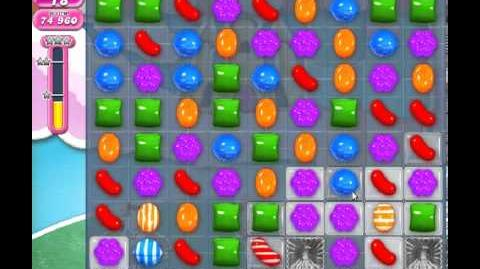Candy Crush Saga Level 276 - 1 Star - no boosters