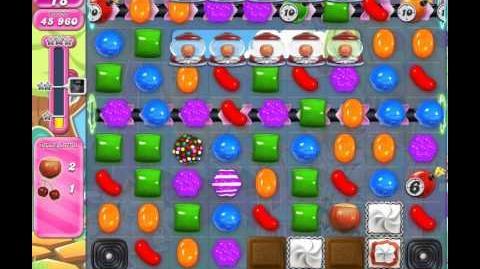 Candy Crush Saga Level 915 (No booster)