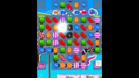 Candy Crush Level 126 New 15 wrapped candies order