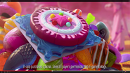 Cake bomb, jelly fish and mystery candy in the CCS Tv ad