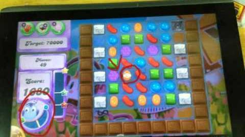 Candy crush Saga sugar drop on Dreamworld