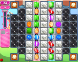 how to pass level 1805 on candy crush