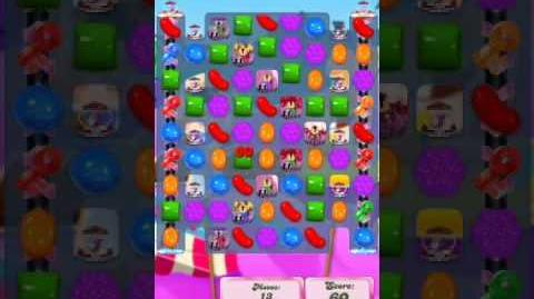 Candy Crush Level 2021(3rd version, 14 moves)