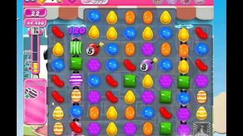Candy crush saga level 677 3 stars w No booster used!