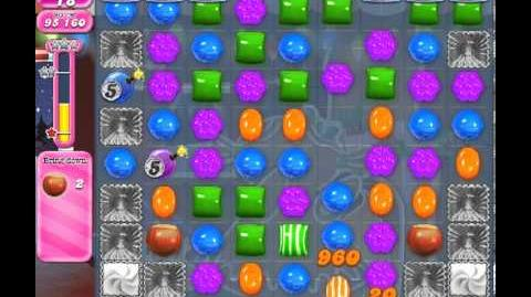 Candy Crush Saga Level 268 - 3 Star - no boosters