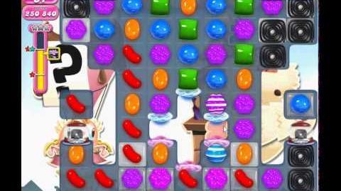 Candy Crush Saga level 696 (3 star, No boosters)