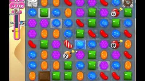 Candy Crush Saga Level 168 Walkthrough