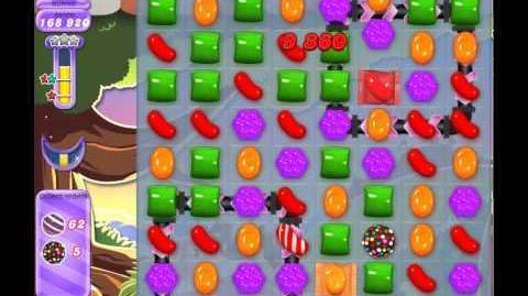 Candy Crush Saga Dreamworld Level 654 (No booster, 3 Stars)