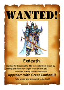 Exdeath wanted poster