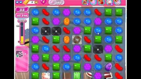 Candy Crush Saga - Level 392 - 3 Stars - NO BOOSTERS