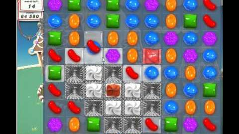 Candy Crush Saga Level 155 - 3 Star - no boosters