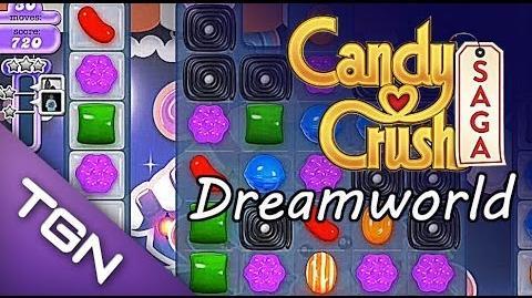 Candy Crush Saga Dreamworld - lvl 88 - 3 stars