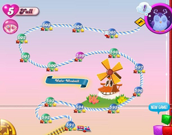 Wafer Windmill Map Mobile
