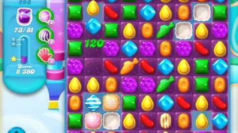 Candy Crush Soda Saga Level 293 (5th version)