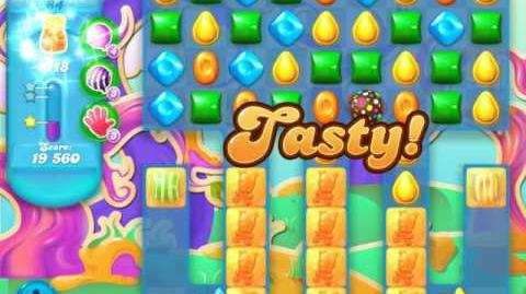 Candy Crush Soda Saga Level 84 (2nd nerfed, 3 Stars)
