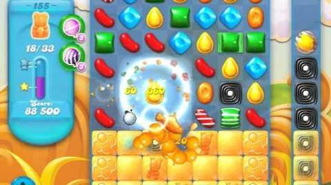 Candy Crush Soda Saga Level 155 (5th version, 3 Stars)