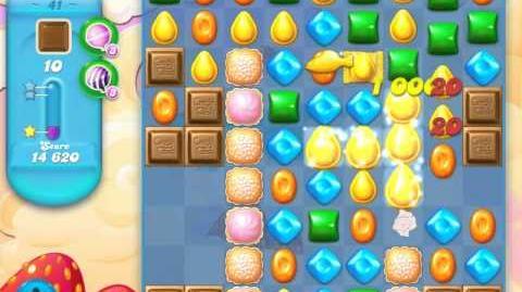 Candy Crush Soda Saga Level 41 (2nd version, 3 Stars)
