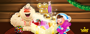 Candy Crush Soda Saga christmas background 2016 cover