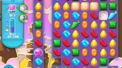 Candy Crush Soda Saga Level 72 (4th version, 3 Stars)