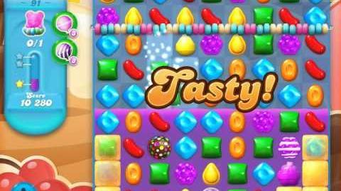 Candy Crush Soda Saga Level 91 (3rd version, 3 Stars)