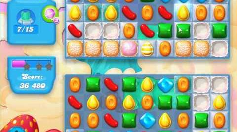 Candy Crush Soda Saga Level 43 (2nd nerfed,3 Stars)