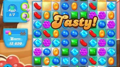Candy Crush Soda Saga Level 105 (4th version, 3 Stars)