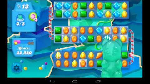 Candy Crush Soda Saga Level 57 - 3 Star Walkthrough