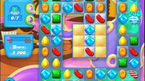 Candy Crush Soda Saga Level 119 (nerfed, 3 Stars)