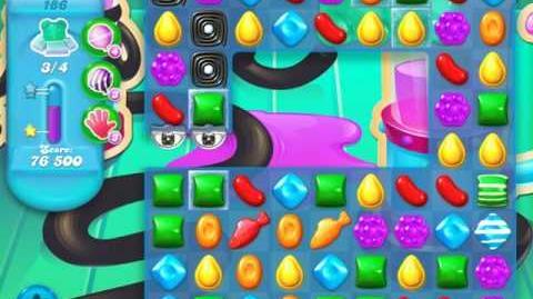 Candy Crush Soda Saga Level 186 (2nd nerfed)