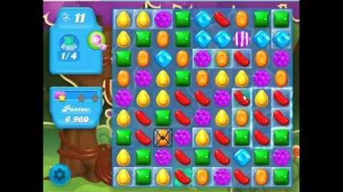 Candy crush soda saga - level 7 - no booster used