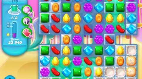 Candy Crush Soda Saga Level 170 (4th version, 3 Stars)