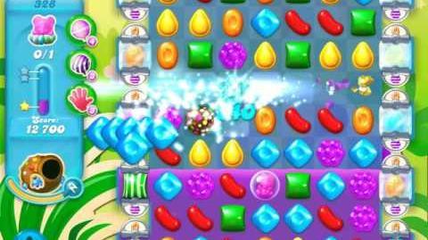 Candy Crush Soda Saga Level 328 (6th version, 3 Stars)