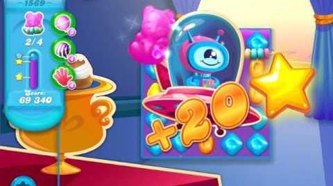 Candy Crush Soda Saga Level 1569 (3 Stars)