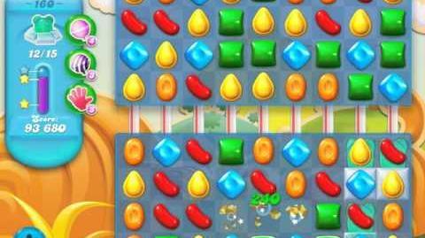 Candy Crush Soda Saga Level 160 (6th version, 3 Stars)