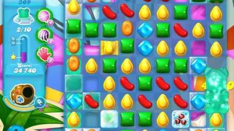Candy Crush Soda Saga Level 309 (5th version, 3 Stars)