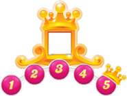 King pass levels crown