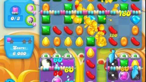 Candy Crush Soda Saga Level 157 (nerfed, 3 Stars)