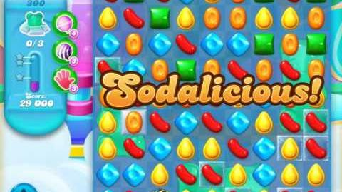 Candy Crush Soda Saga Level 300 (4th version)