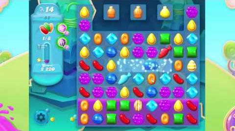 Candy Crush Soda Saga Gameplay Level 52 - Hard Level